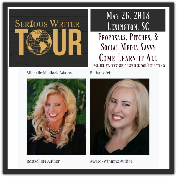 Serious Writer Tour Lexington 2018