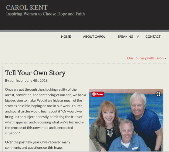 Tell Your Own Story by Carol Kent