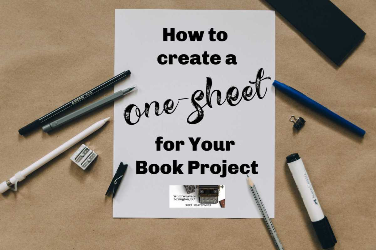 How to Create a One-Sheet