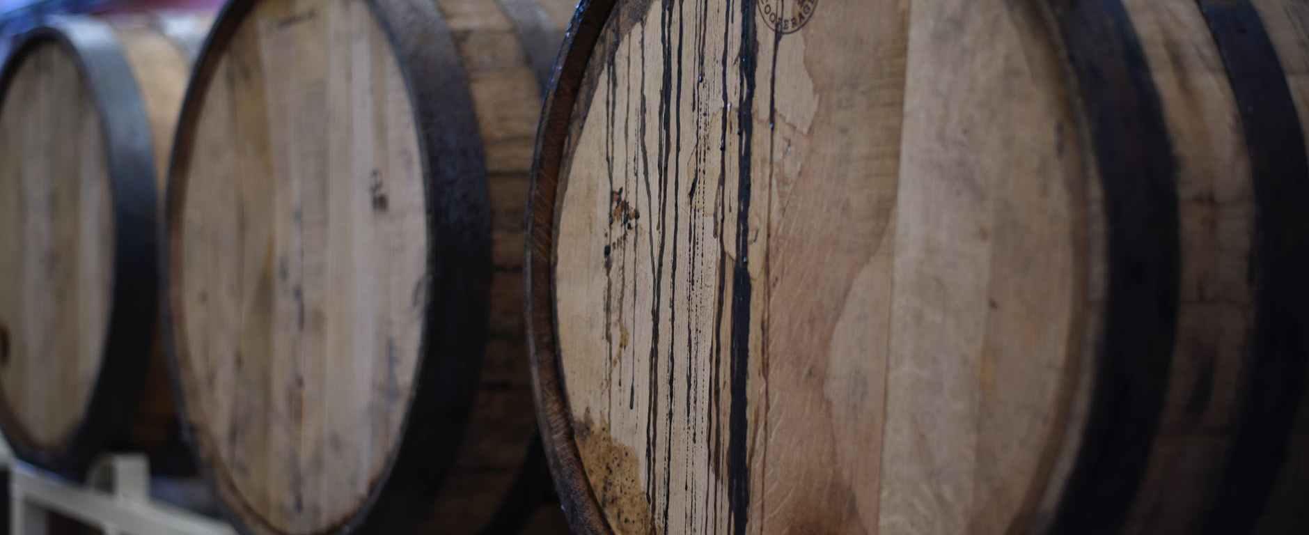 barrels on trailers