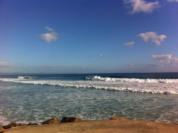 Surf is up @ The Wreck ...