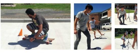 skateboarding 3 tricks