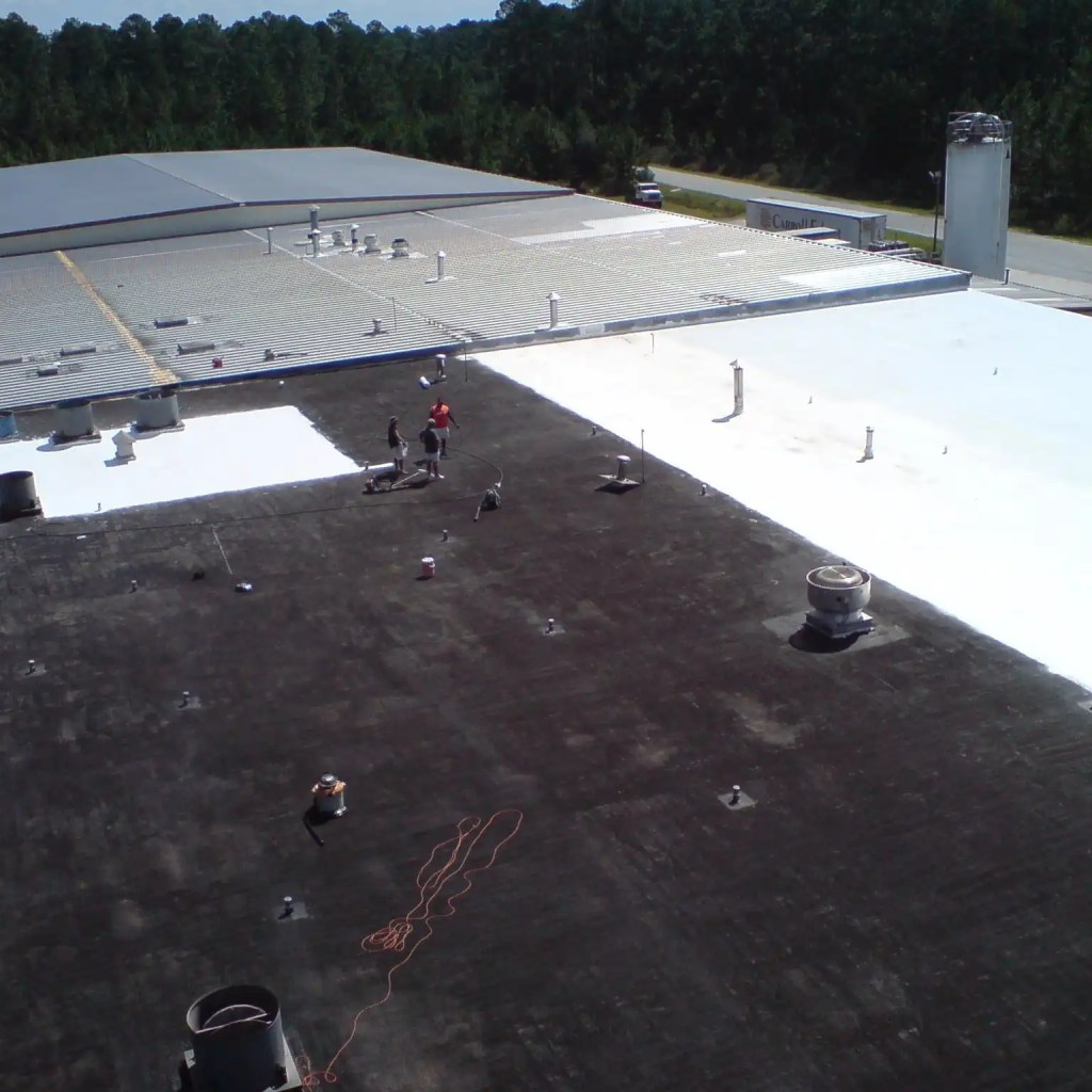 Built-Up Roof Coating @ Richmond Baking
