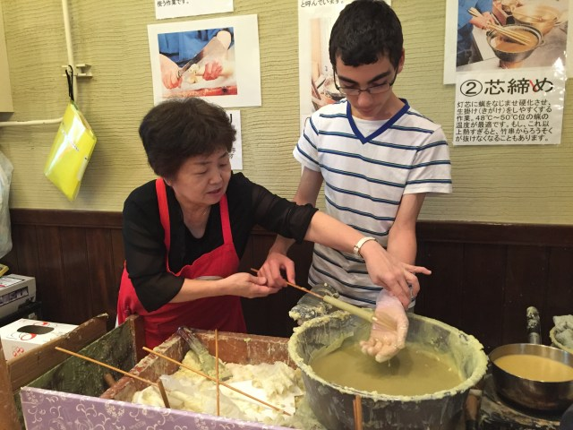 Lexis Japan - TAP Candle Making 7