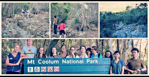 Mt coolum climb