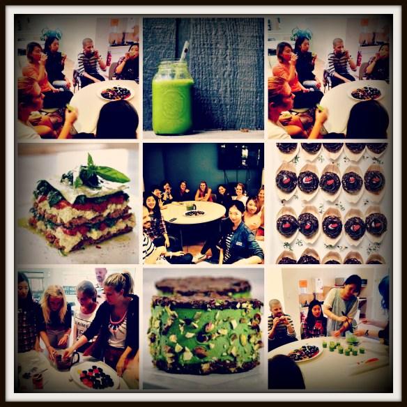 Raw foods workshop