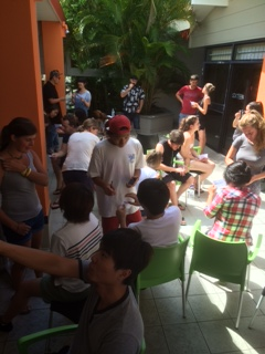 Pre-Intermedite classes mingle with speaking activities