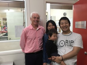 ..and with teacher Phil Egan