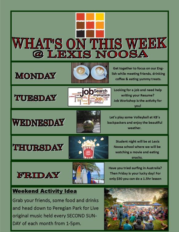 Poster Week 2
