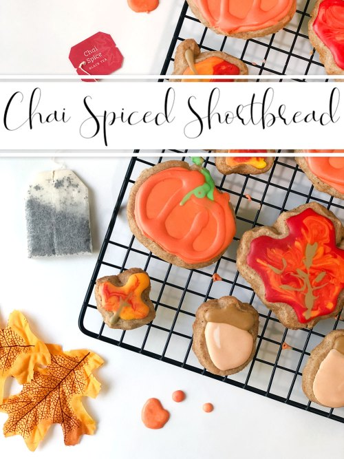 These subtle chai-spiced shortbread cookies are sweet and crumbly and SO delicious. They make the perfect addition to any fall dinner or party!