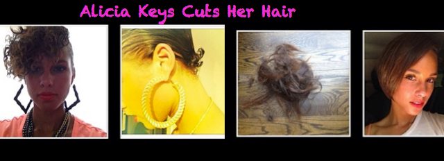 Celeb Coiff- Alicia Keys New Curly Hair Cut