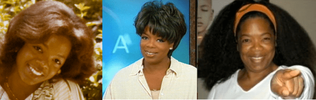 Oprah Covers O Magazine With Her Natural Hair (Sept 12)