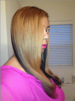 Hair Straightened- Corioliss K2 Review