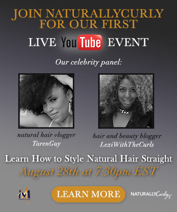 Join Myself & Taren For A Google+ Hangout With NaturallyCurly.com & Motions