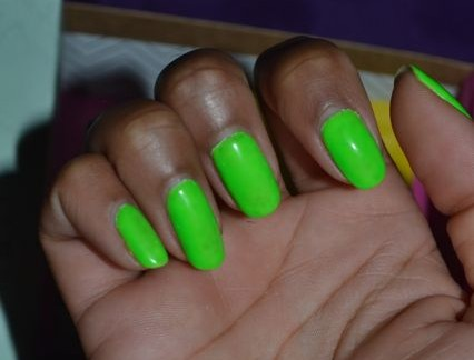 Monday Mani Muse- Neon Green As Seen On Evelyn Lozada