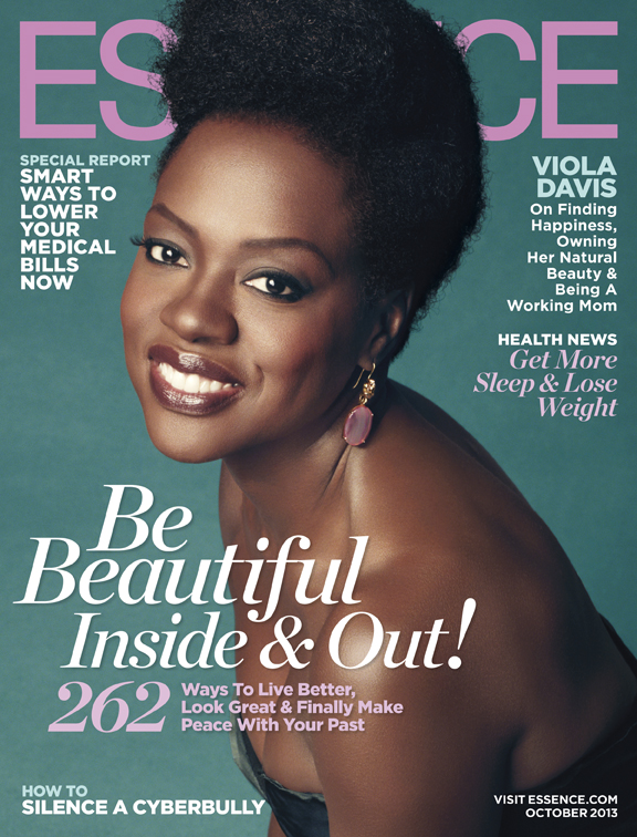 Viola Davis Covers October 2013 Essence