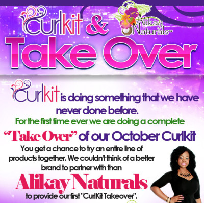 October Curl Kit- Alikay Natural's Takeover Get Yours Today!