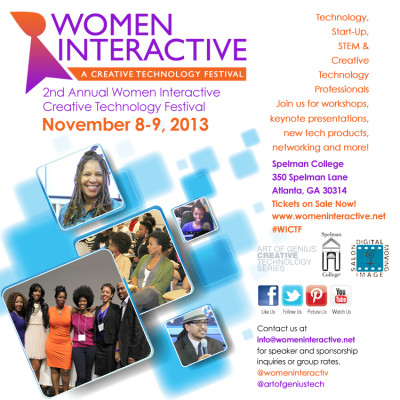 Come Check Me Out On The Blogger Panel 11/9: Women Interactive!