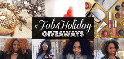 Win Big WIth The #Fab4Holiday Giveaway!