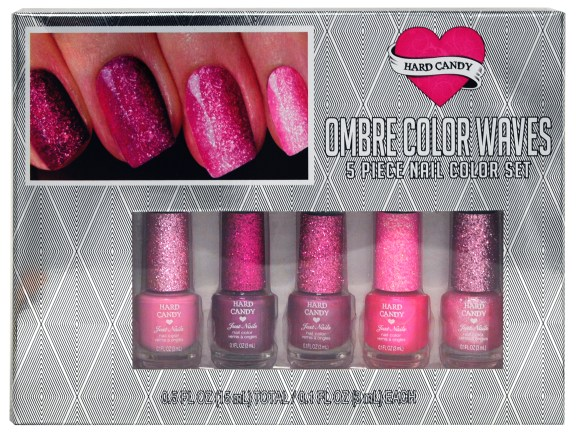 Day 11 Hard Candy ombre pink