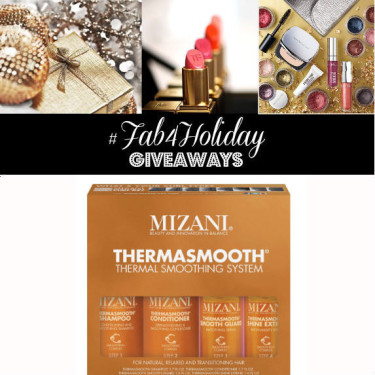 Day 24: Mizani Curl Recharge + Thermasmooth Kit (4 Winners)