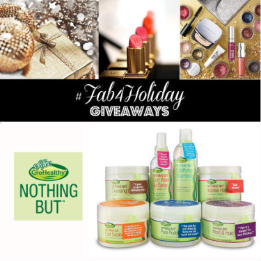 Day 9- Win A Nothing But Hair Product Set