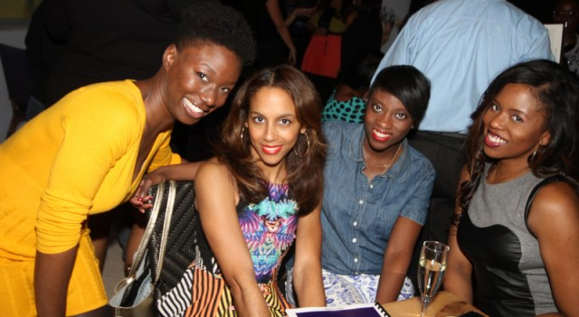 Danielle Kwateng - Tia Williams - Nikki Ogunnaike - Shirea Carroll at the Ultimate Beauty Getaway Welcome Reception at Serafina Miami 1.23