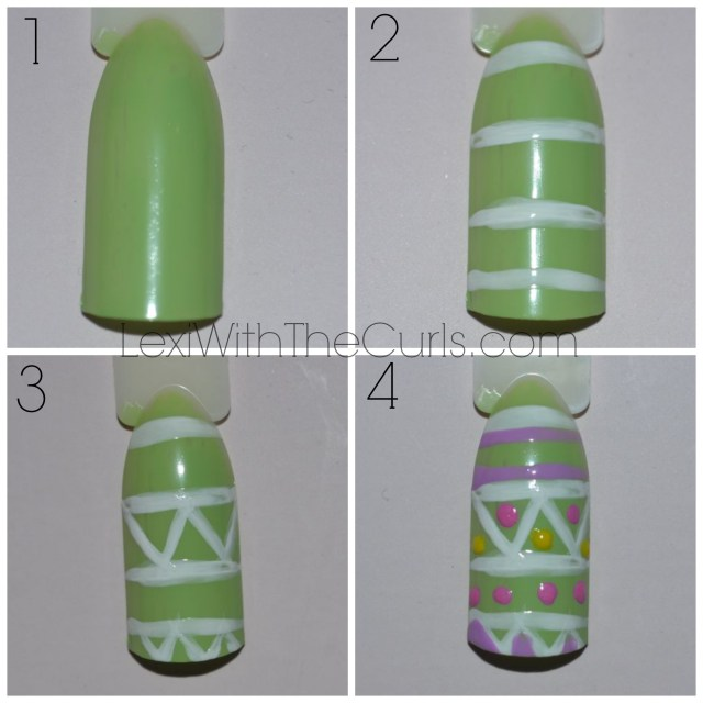 easter egg nails tutorial spring nails