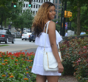 #FABfriday Rocking All White! Jessica Simpson 'Fit From Macy's