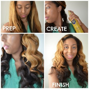 Get The Look: 'Think Like A Man Too' Tousled Waves Feat. Motions