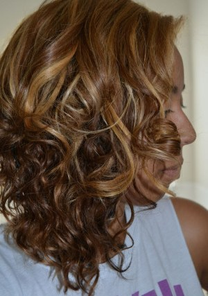 Maintaining My Curly Bob – Wash, Style, Night-time!