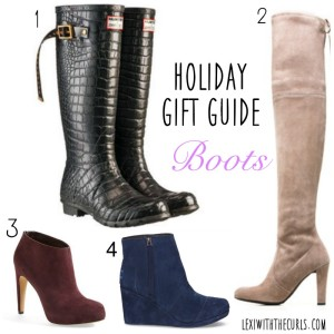 Holiday Gift Guide – Boots!!!