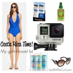 Costa Rica Time! My Travel Must Haves For Adventure