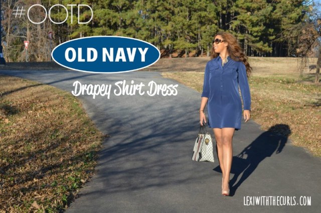oldnavy dress old navy drapey shirt dress