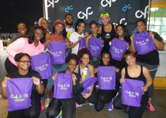 #CurlyAndFit Takes On CYC Fitness In Atlanta