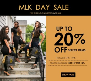 SALE: ONYC Hair Up To 20% Off For MLK