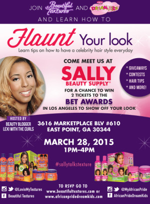 *New Date* Flaunt Your Look With Beautiful Textures- ATL, Chi, Dallas, DMV, Columbia