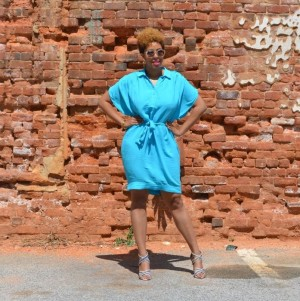 #OOTD Easter Blue In DVF, ShoeDazzle,  Quay Sunnies