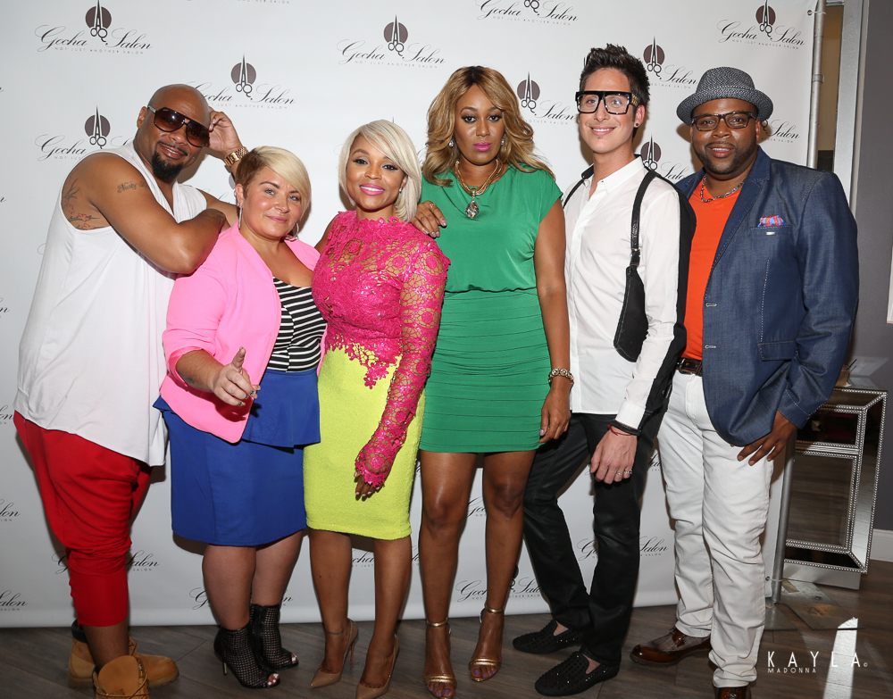 LA Hair Cast - Dontay Savoy, Naja Rickette, Gocha Hawkins, China Upshaw, Anthony Pazos, Terry Hunt