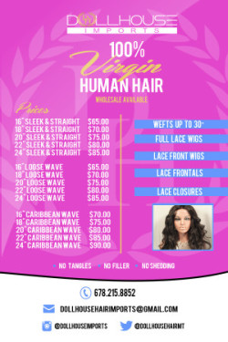 Extensions & Lace Wigs: Introducing DollHouse Imports