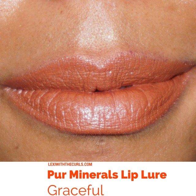 graceful lip lure pur minerals