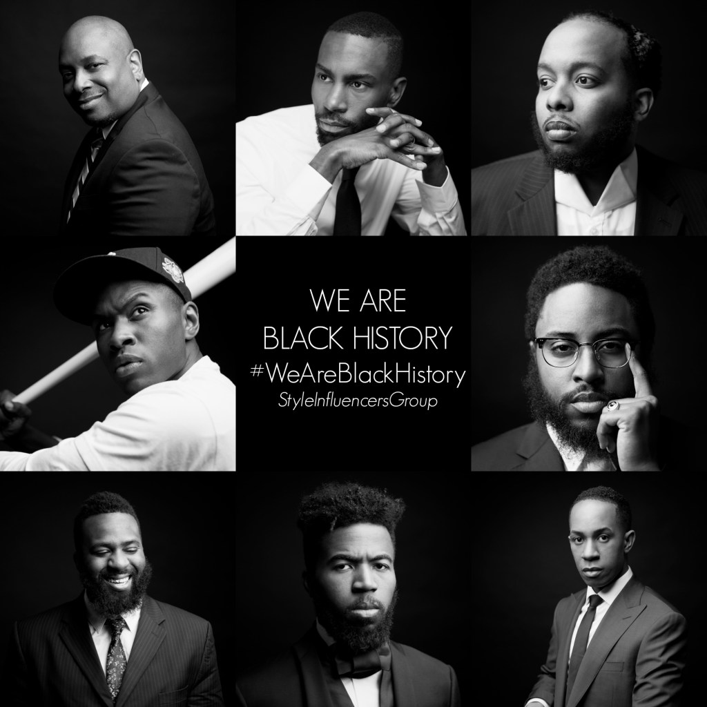 Style Influencers Group & @MyAfricanPride's #WeAreBlackHistory Campaign Honors Inspirational Black Men