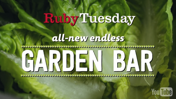 Healthy Eating! The New & Improved @RubyTuesday's Salad Bar