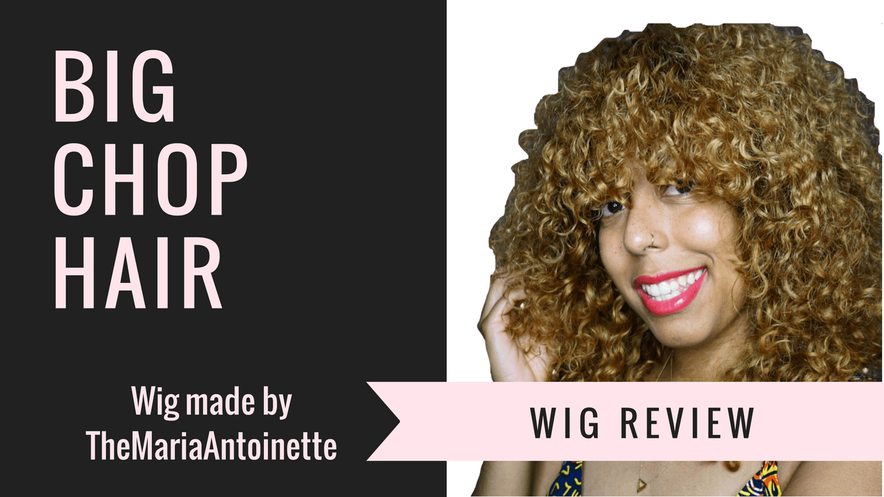 Video: @BigChopHair in Spiral Curl Wig Review