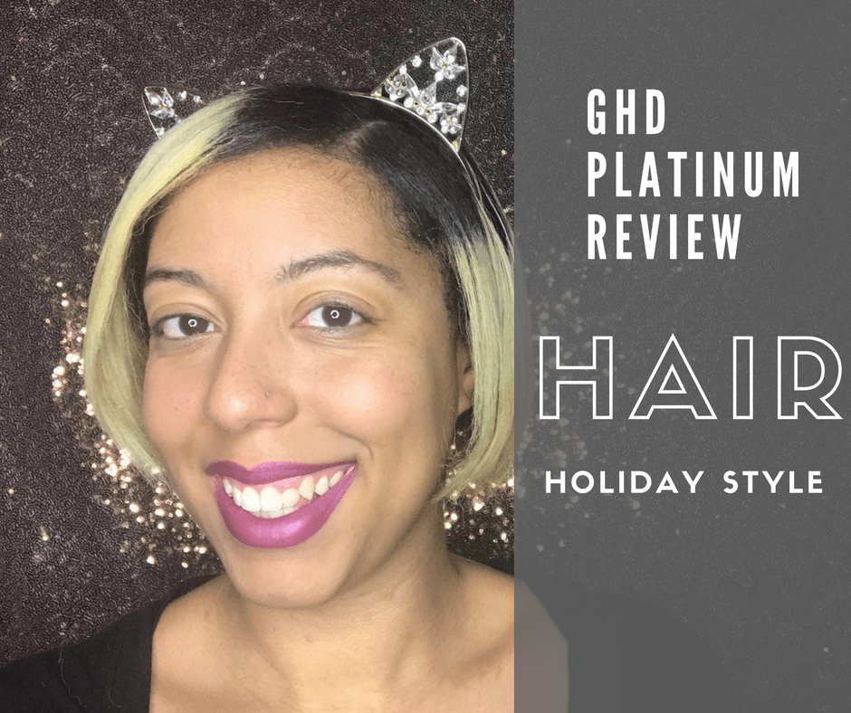 Holiday Hair With ghd Platinum Styler + Accessories