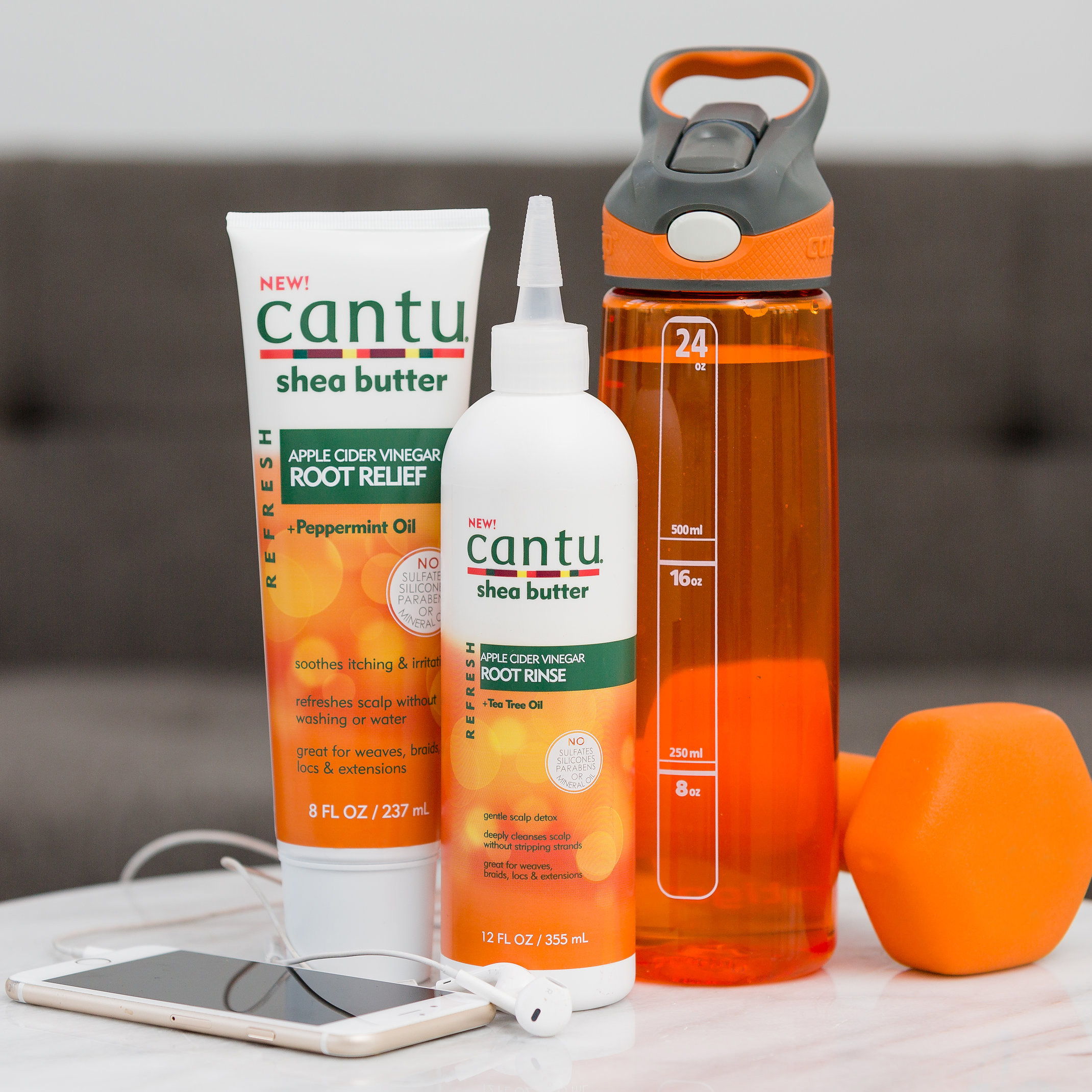 #CurlyAndFit Refresh Your Workout Hair With @CantuBeauty