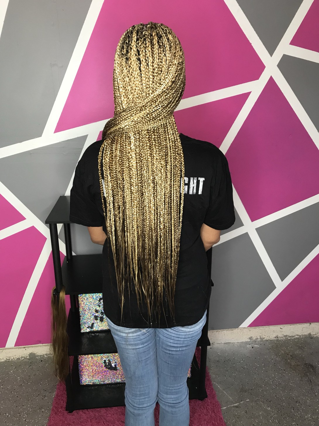 Box braids 27 163 Atlanta hip waist thigh