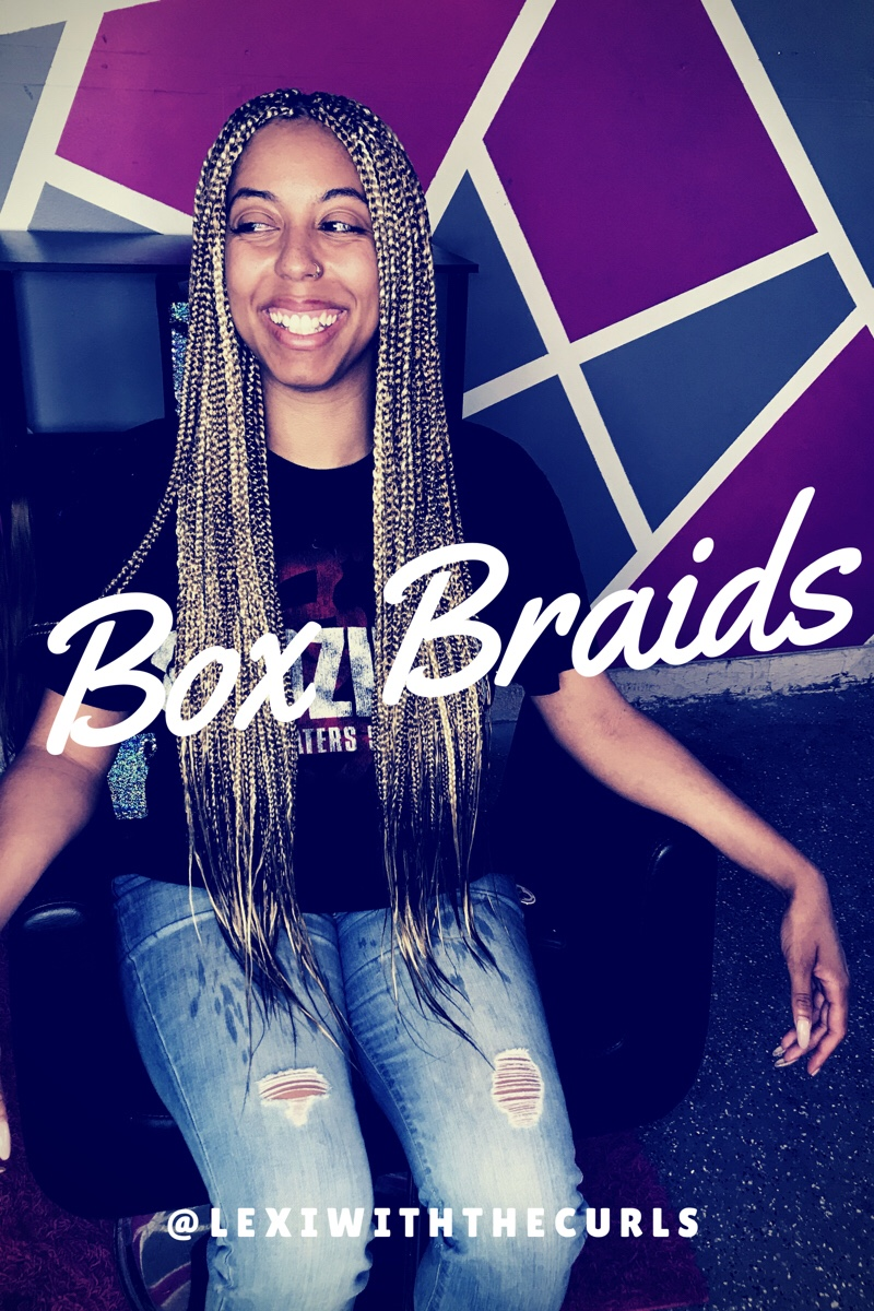 Hip Length Box Braids For The Summer