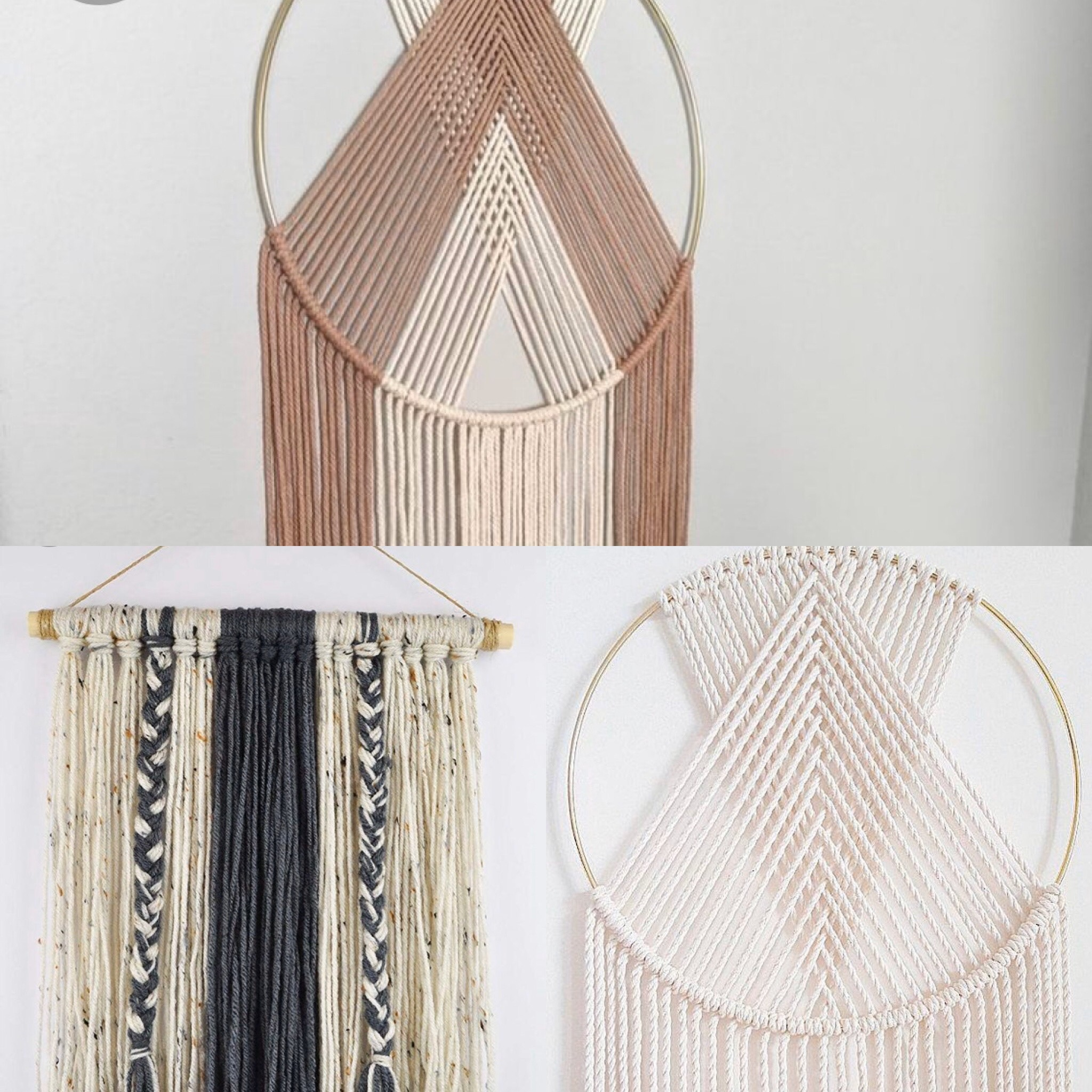 Quarantine DIY: Yarn Wall Decor