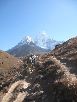 Everest Base Camp trail, Nepal